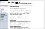National TRIO Clearinghouse